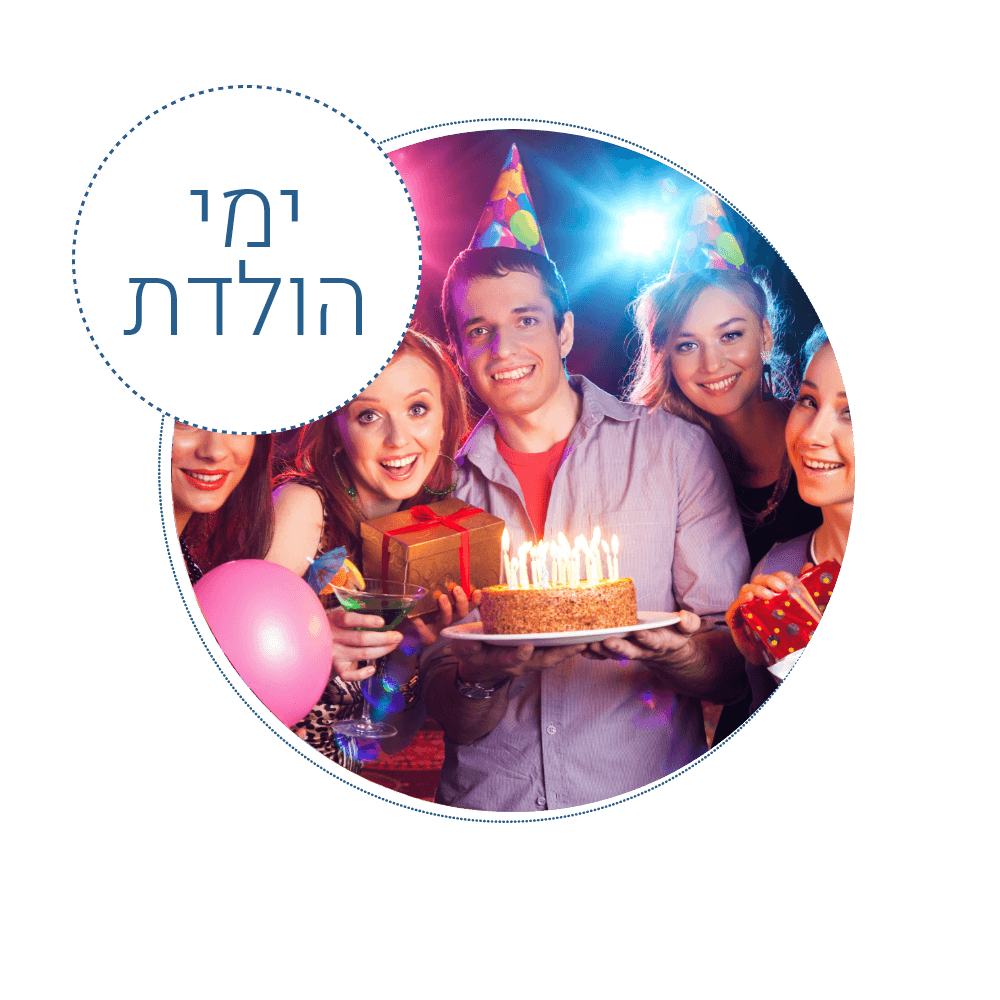 Birthdays in the word spa in the city of Eilat