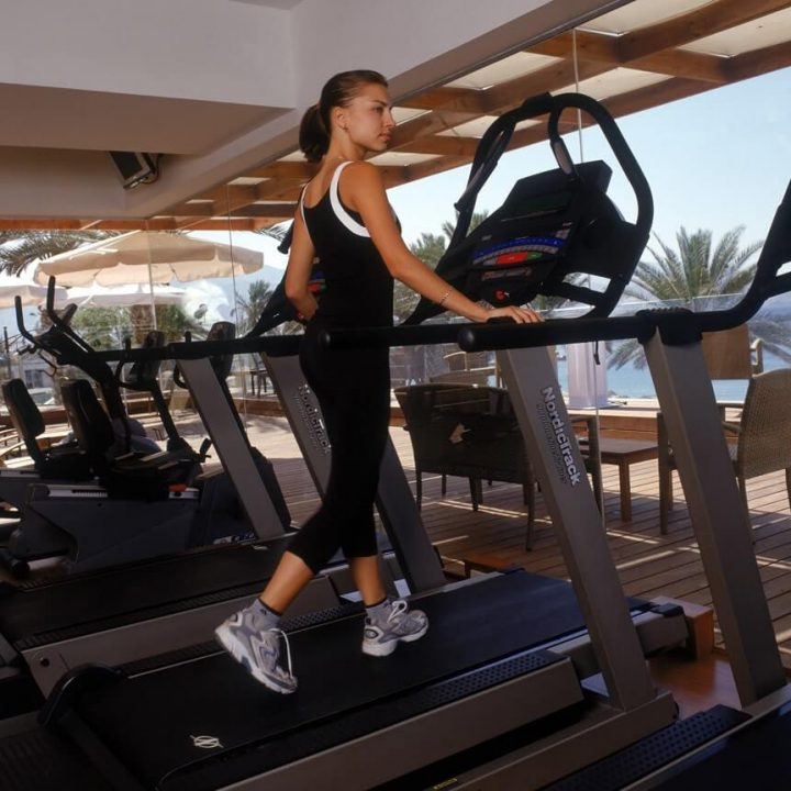 Great fitness facilities in Eilat's best spa